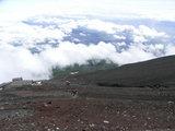 富士山中腹から下