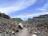 富士山 御殿場口もうすぐ頂上
